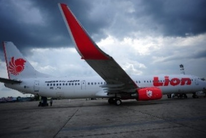 Angkut Jamaah Umrah Pesawat Lion Air Sempat Berhenti Mendadak Republika Online