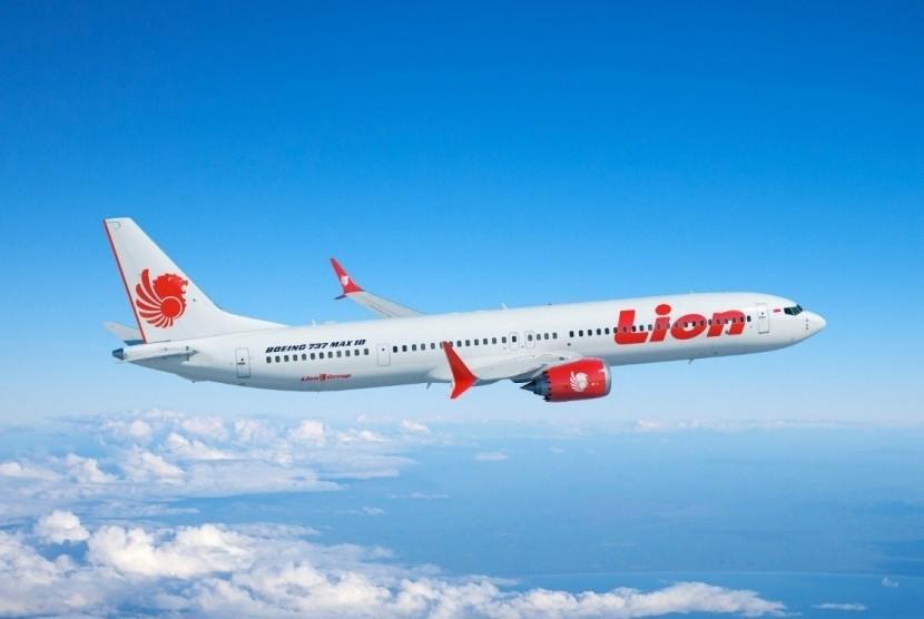 Lion Air Boeing 737 MAX 8.