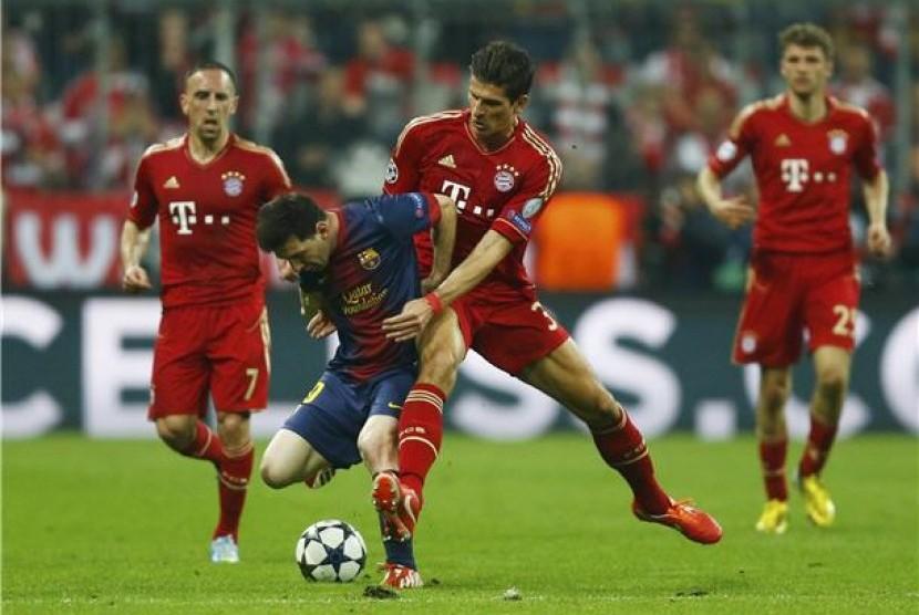 Ini Susunan Pemain Barcelona Vs Bayern Muenchen