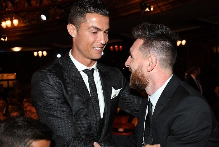 Jelang Vs Juve, Messi Berharap Ronaldo Pulih dari Covid-19