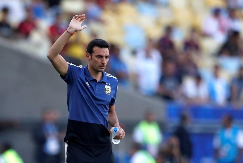 Lionel Scaloni, pelatih Argentina.