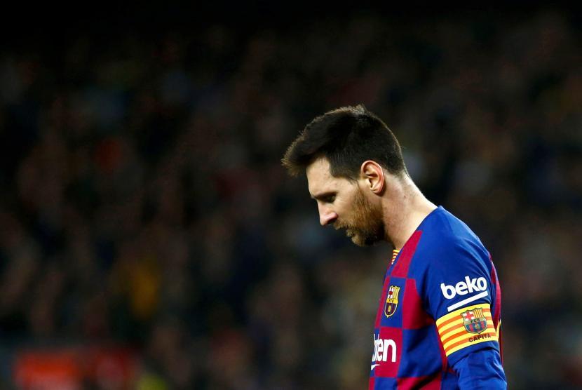 Manchester City Siap Menampung Messi Keluar Dari Barcelona