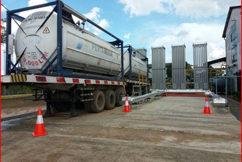 LNG filling station PTGN.