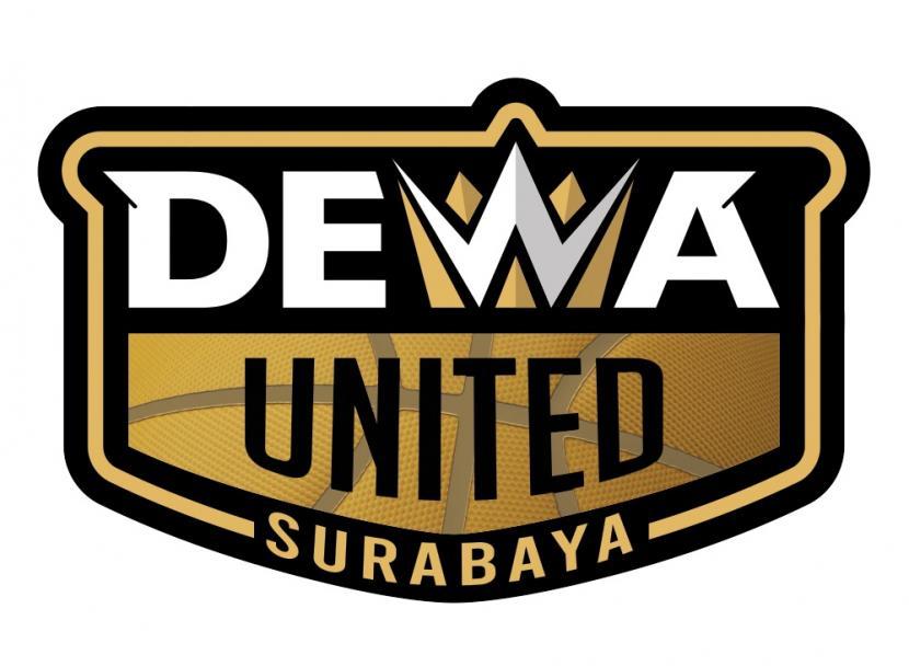 Logo baru klub basket Tanah Air, Dewa United Surabaya, untuk IBL 2022 mendatang.