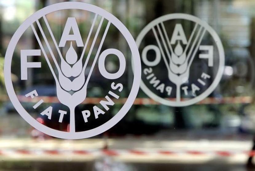 Logo FAO. Ilustrasi