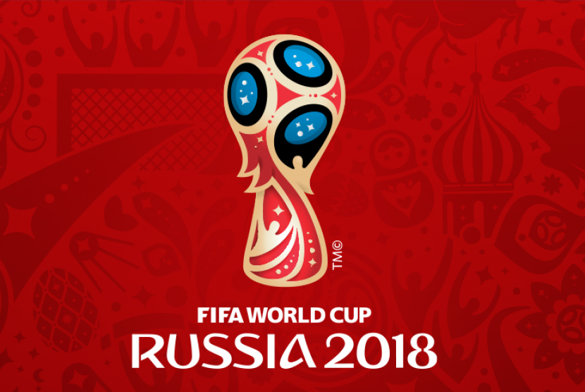 Logo Piala Dunia Rusia 2018