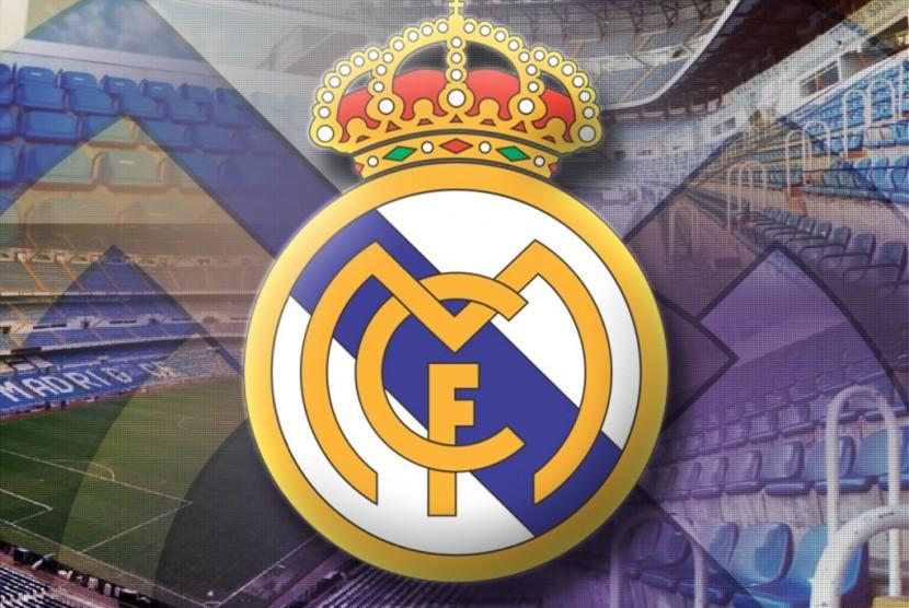 Logo Real Madrid (ilustrasi).
