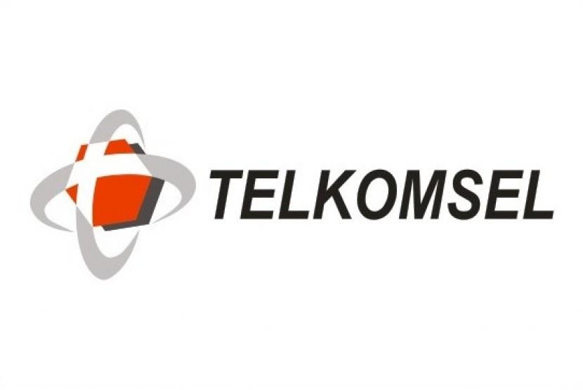 Logo Telkomsel.