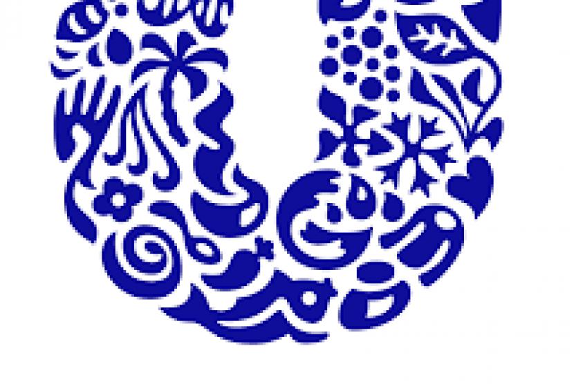 Logo Unilever. PT Unilever Indonesia Tbk mengalami perlambatan kinerja pada kuartal III 2021.