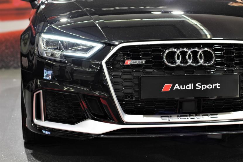 Audi dan FAW Group China berkolaborasi kembangkan mobil listrik premium (Foto: Logo Audi)