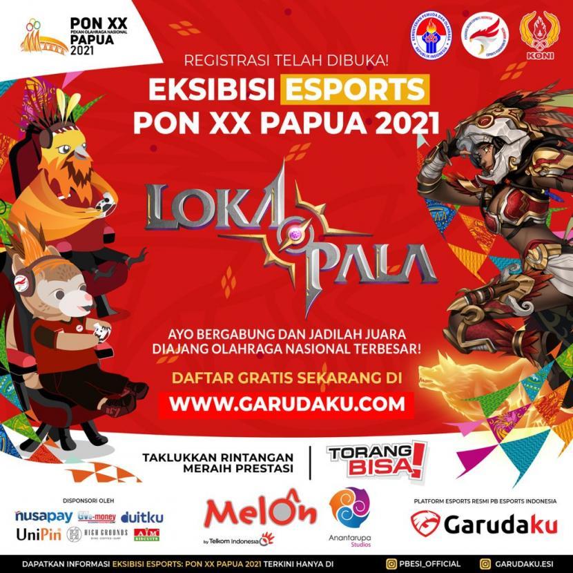 Lokapala, gim Multiplayer Online Battle Area (MOBA) besutan anak bangsa Indonesia akan dipertandingkan di ekshibisi eSports PON XX Papua 2021.