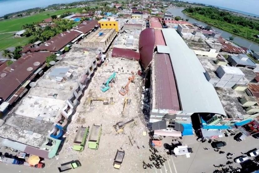 Lokasi gempa di Pidie Jaya, Aceh