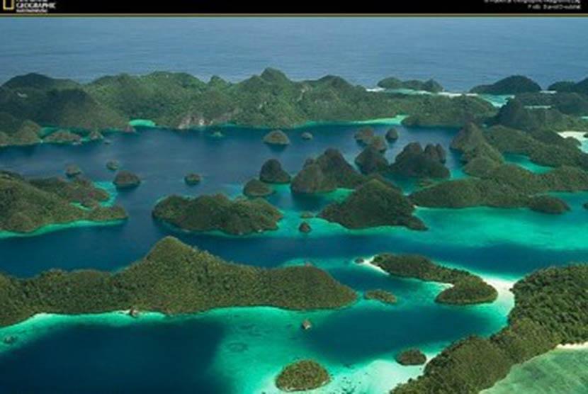 Lokasi wisata Rajaampat