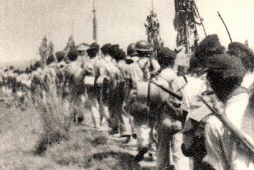 Long March Divisi Siliwangi di awal kemerdekaan.