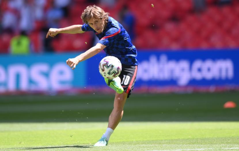 Luka Modric dari timnas Kroasia.