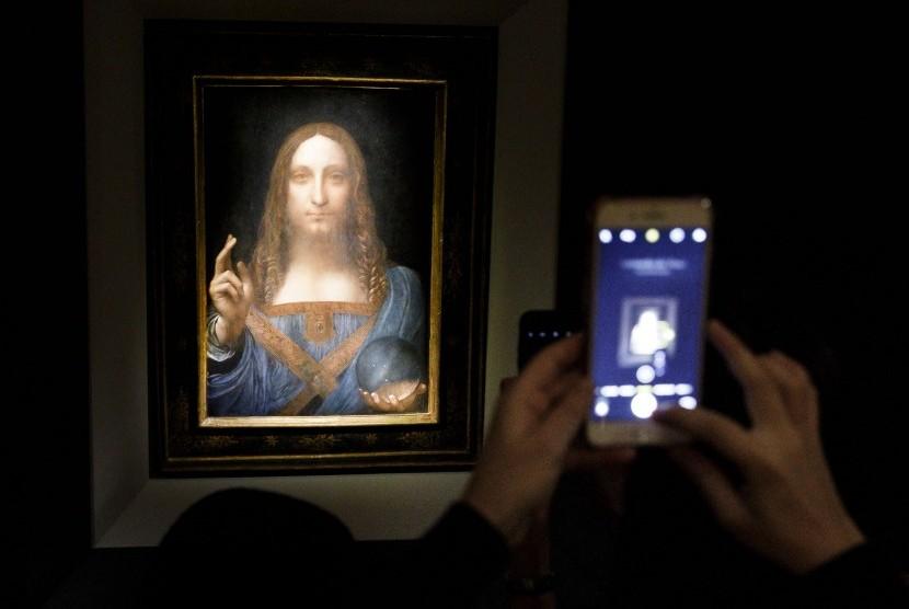 Lukisan Salvador Mundi karya Leonardo Da Vinci seharga Rp 6 triliun rencananya akan dipamerkan di Museum Louvre Abu Dhabi.