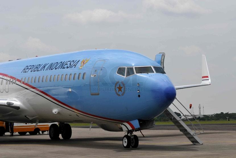 Pesawat Baru Kepresidenan Tiba di Bandara Halim ...