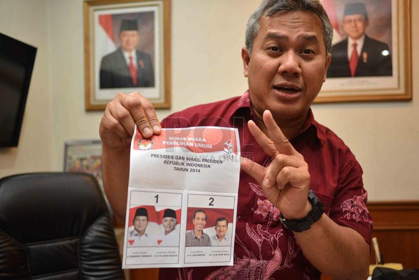 Anggota komisioner KPU, Arief Budiman  (Republika/Agung Supriyanto)