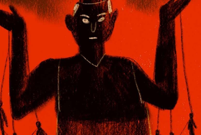 Machiavelli yang kemudian di lambangkan sebagai pangeran kegelapan.