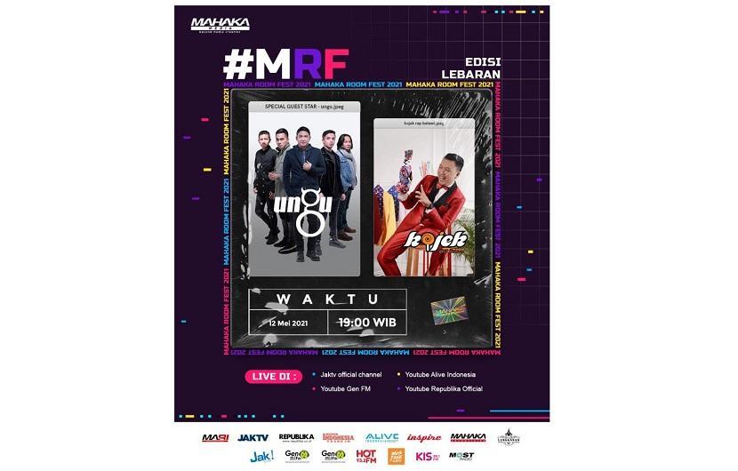 Libur Lebaran Seru di Rumah Bersama Mahaka Room Fest 2021