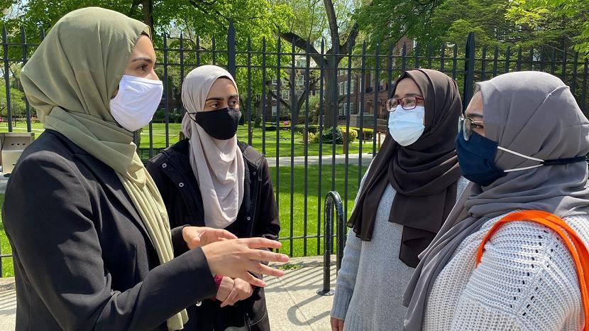 Mahasiswa muslim di New York