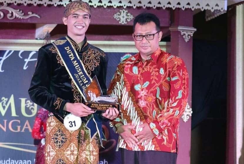 Mahasiswa UBSI Tegal menjadi Duta Museum Jawa Tengah 2018.