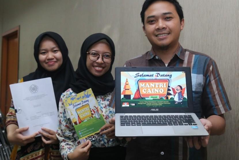 Mahasiswa UMM menciptakan inovasi media pembelajaran melalui budaya.