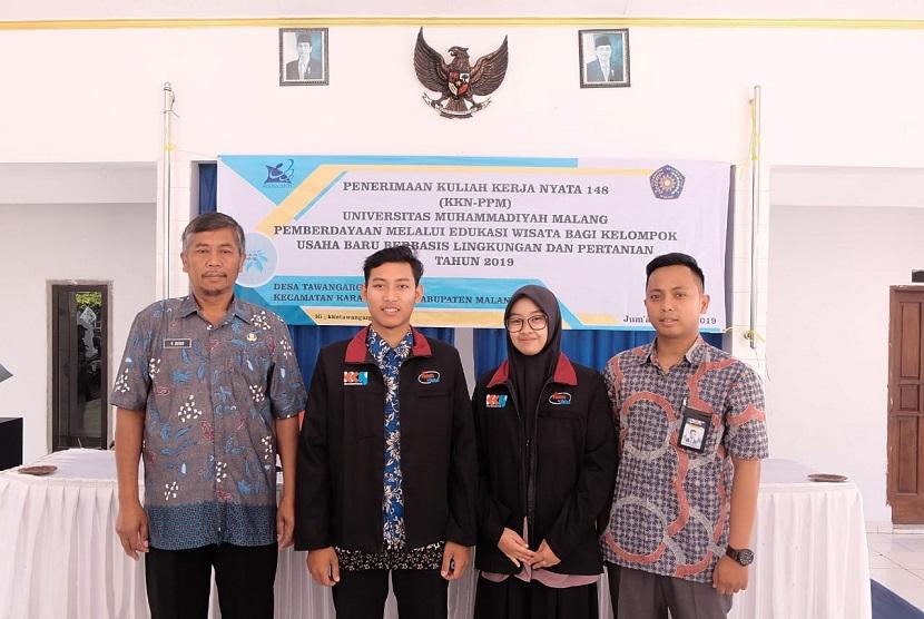 Mahasiswa Universitas Muhammadiyah Malang (UMM) mengembangkan Desa Wisata berbasis pertanian di Kabupaten Malang.
