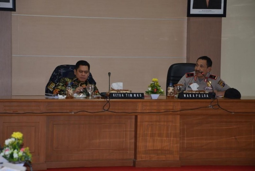 Mahkamah Kehormatan Dewan (MKD) menjalin koordinasi dengan jajaran Polda Kalimantan Timur.