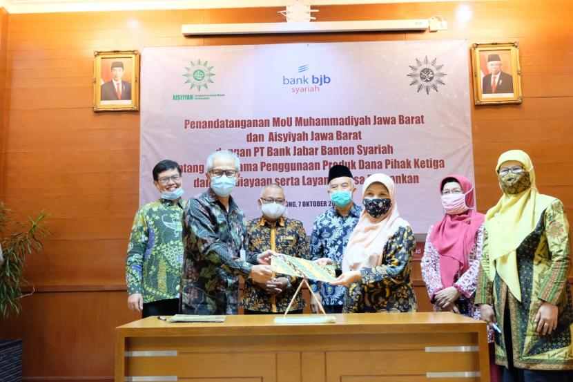 Majukan Pendidikan, bank bjb syariah Gandeng Muhammadiyah ...