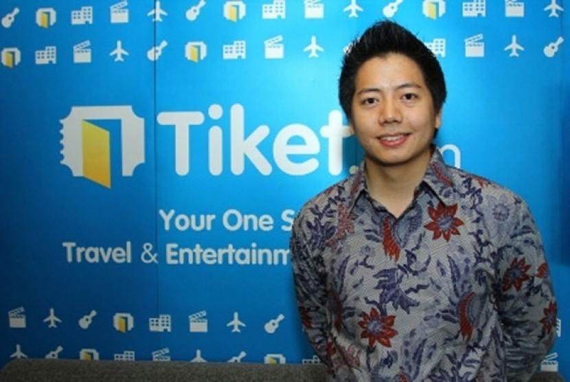 Managing Director Tiket.com, Gaery Undarsa