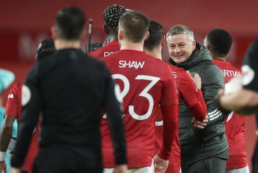 Drama Lima Gol, MU Akhirnya Menang 3-2 atas Liverpool
