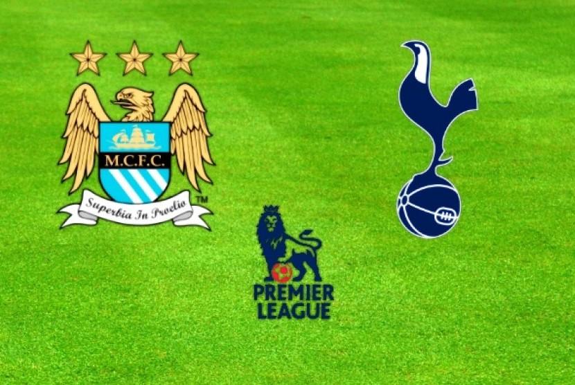 Manchester City versus Tottenham Hotspur.