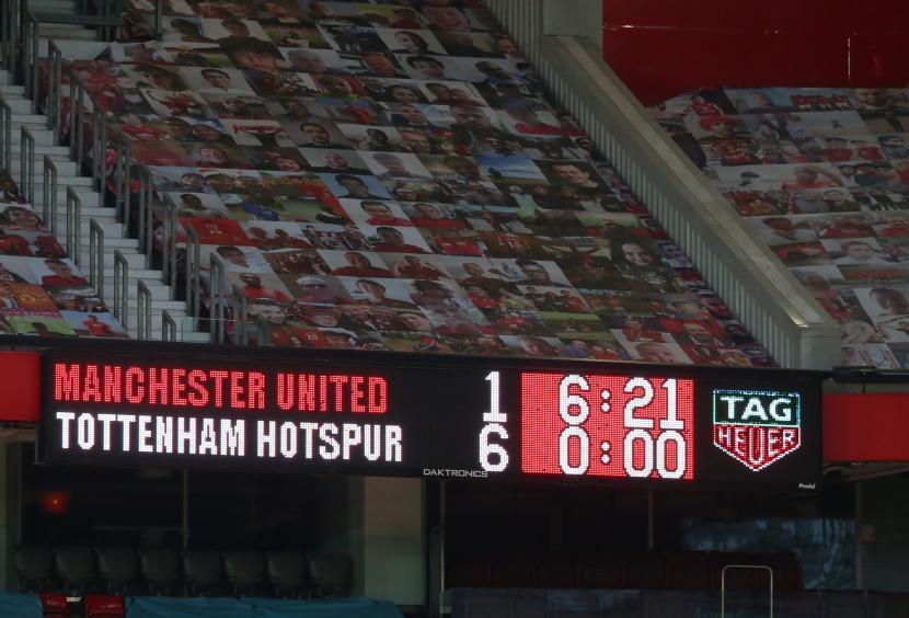 MU: Old Trafford Siap Tampung 23.500 Penonton