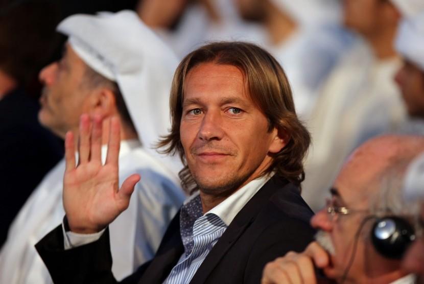 Mantan bek Real Madrid, Michel Salgado.