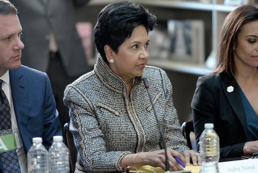 Mantan CEO Pepsi, Indra Nooyi.
