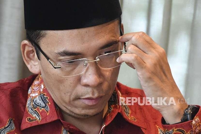 Mantan Gubernur Nusa Tenggara Barat (NTB) Tuan Guru Bajang (TGB) Muhammad Zainul Majdi