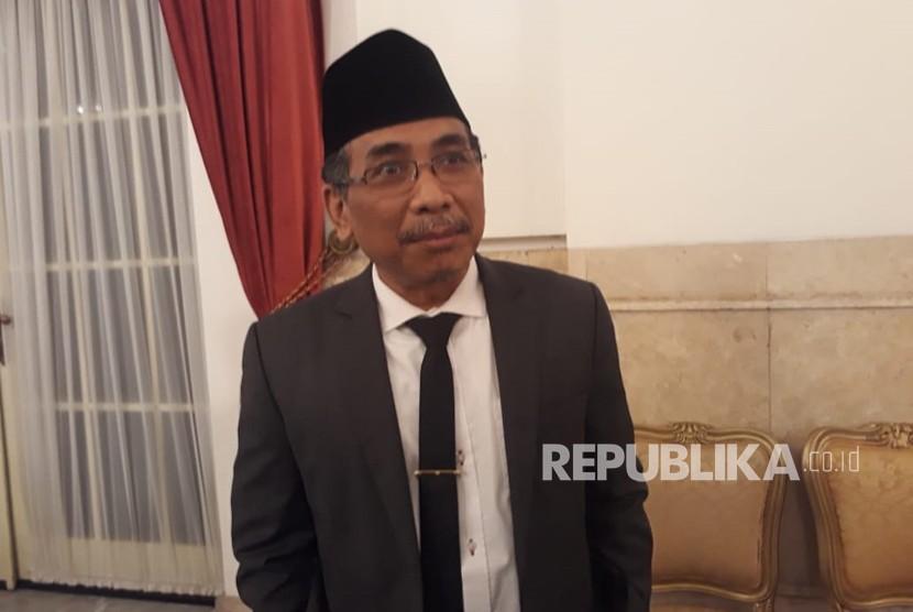 Mantan Juru Bicara Presiden RI ke-3 KH Abdurrahman Wahid atau Gus Dur, Yahya Staquf, diangkat menjadi anggota Dewan Pertimbangan Presiden (Wantimpres), Kamis (31/5).