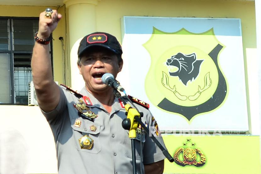 Mantan kapolda Jawa Barat, Inspektur Jenderal Polisi Anton Charliyan.