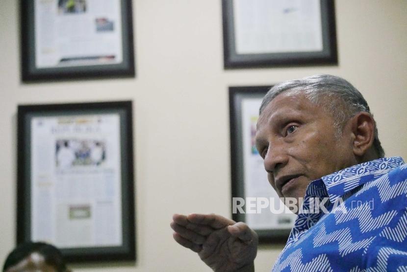 Mantan ketua MPR Amien Rais.