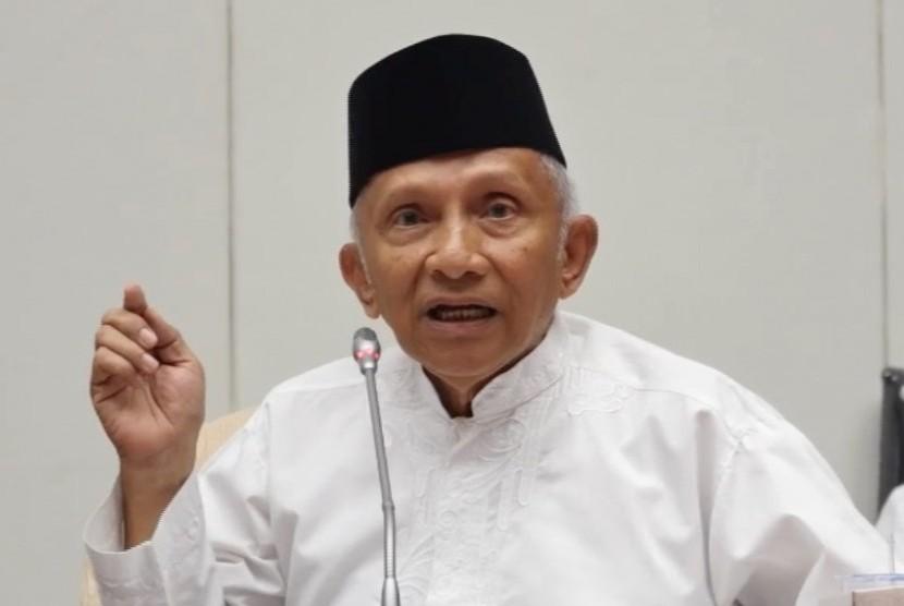 Former Mpr Chairman Amien Rais