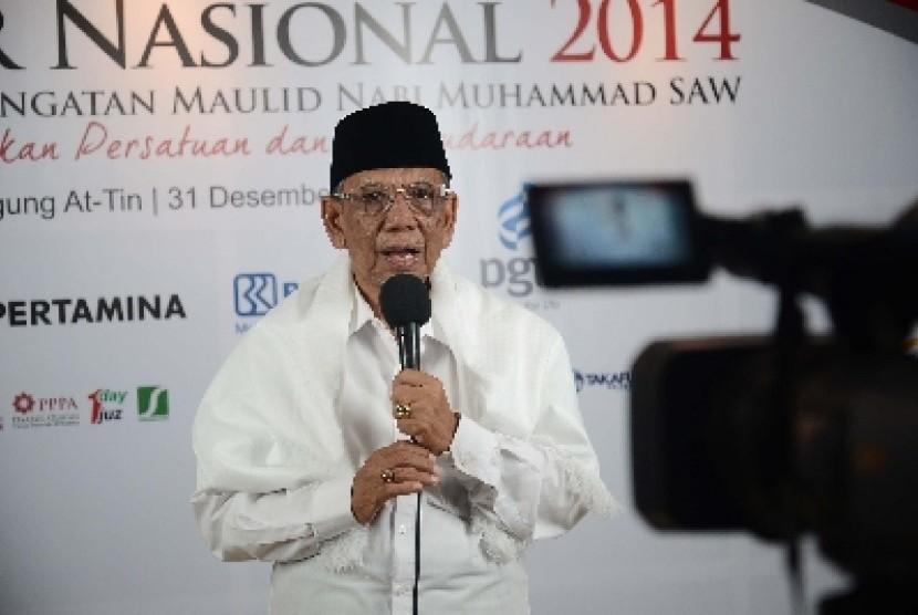 Mantan ketua umum PBNU, Hasyim Muzadi.