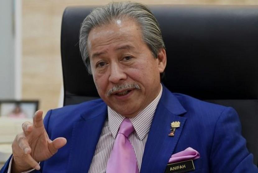 Mantan Menteri Luar Negeri Malaysia yang juga anggota parlemen dari Partai UMNO, Datuk Seri Anifah Aman.