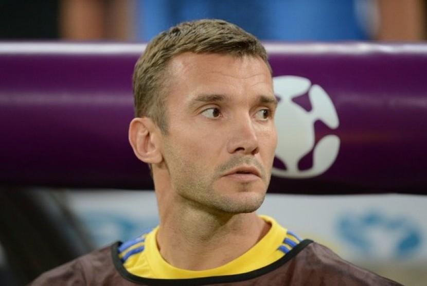 Mantan penyerang AC Milan, Andriy Shevchenko.