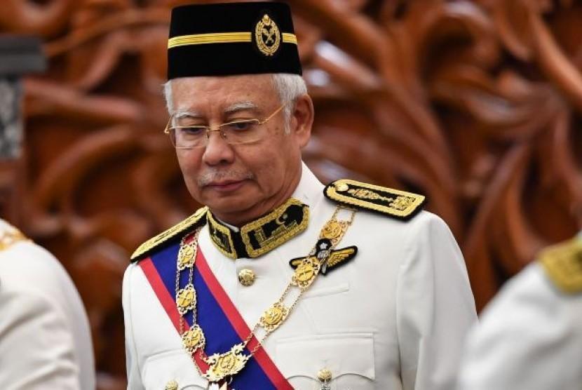 Mantan Perdana Menteri Malaysia, Najib Razak
