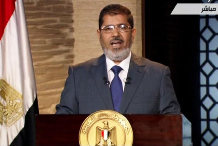 Mantan presiden Mesir Muhammad Mursi.