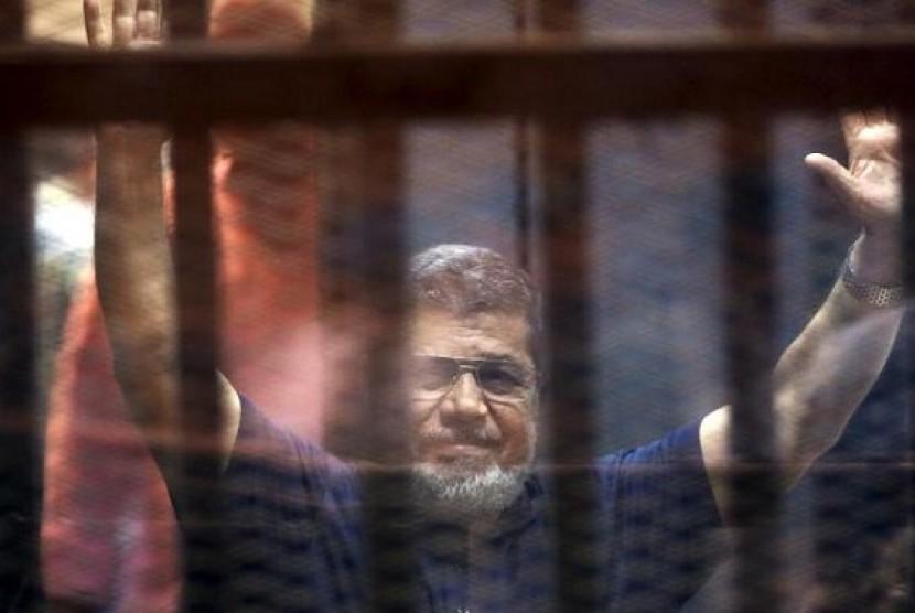 Mantan Presiden Mesir, Muhammad Mursi divonis hukuman mati