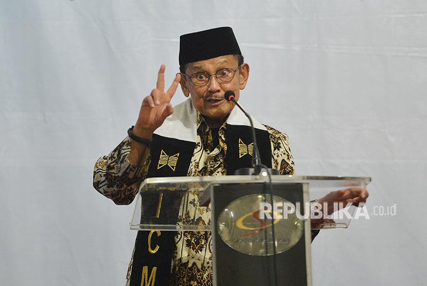 Third Indonesian president Bacharuddin Jusuf Habibie