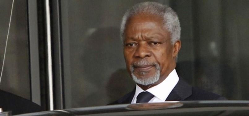 Mantan Sekjend PBB Kofi Anan