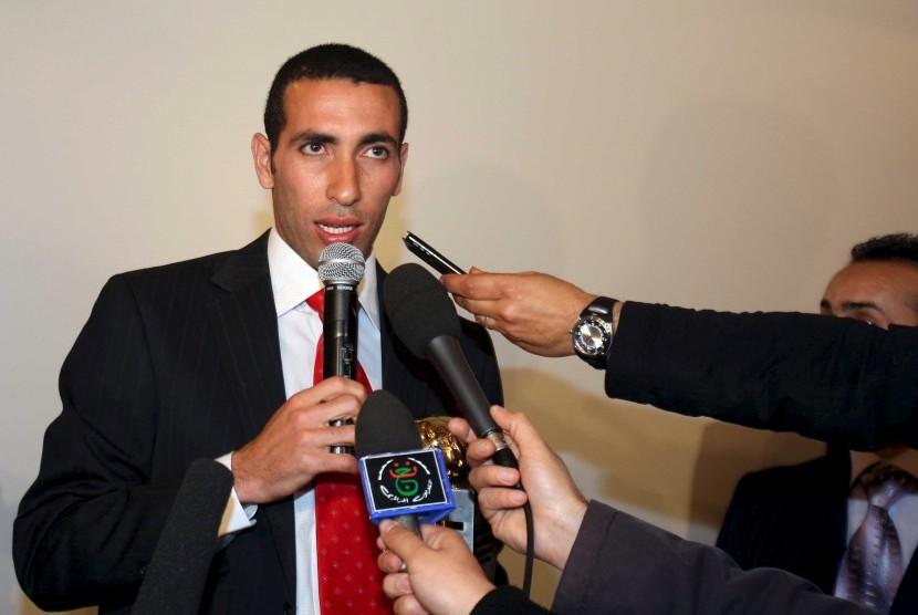 Mantan striker timnas Mesir, Mohammed Aboutrika.